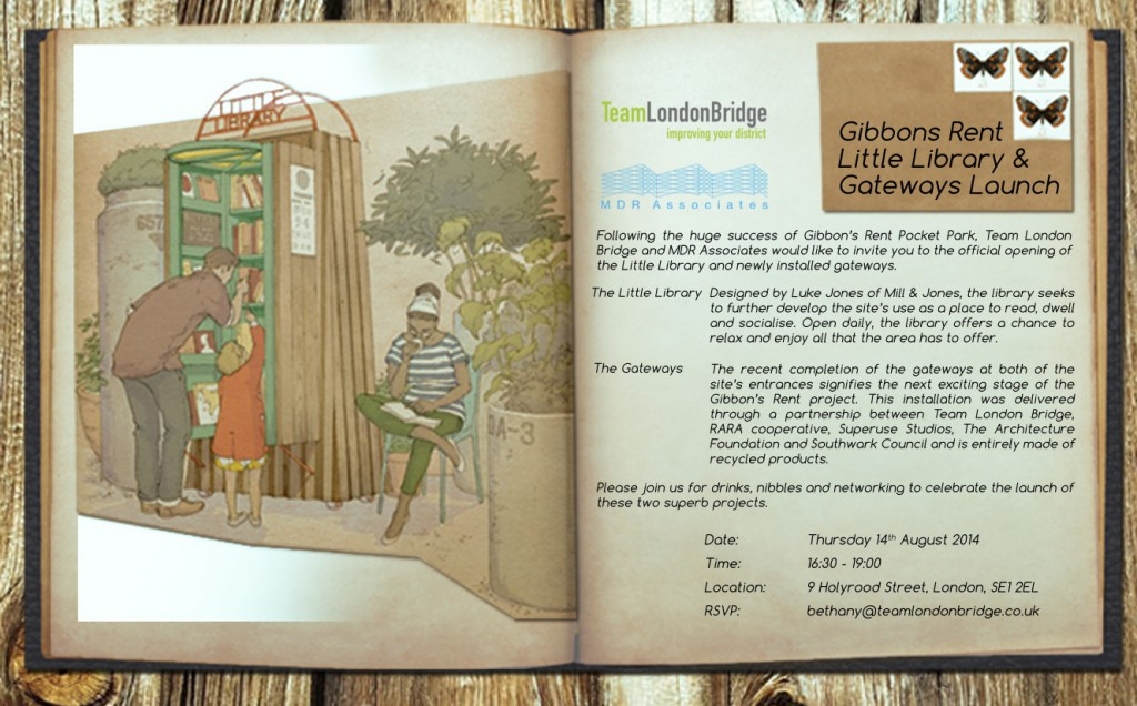 Little Library & Gateways Invitation